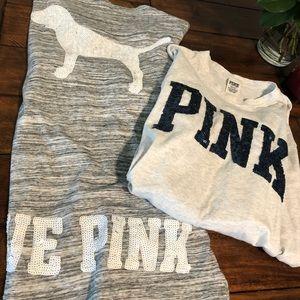 ❤️ Victoria Secret Pink Bundle💥 Sz M 💕